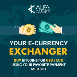 Обмен валют Alfa cashier