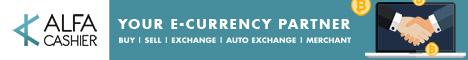 ALFAcashier - сервис обмена электронных валют.