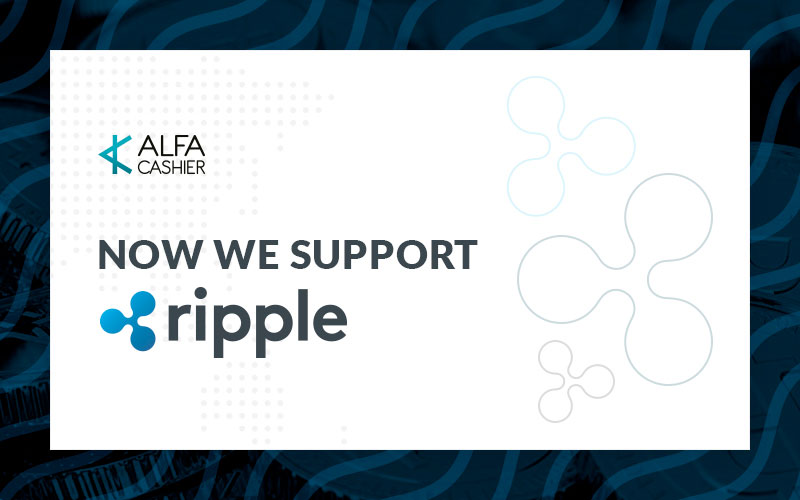 XRP is supported now!