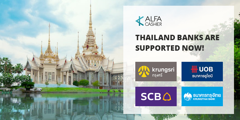 Thailand Banks are supported now!