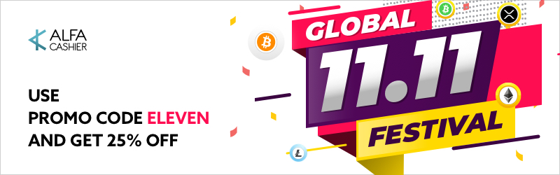 11.11.2018 - The Global Shopping Festival on ALFAcashier!