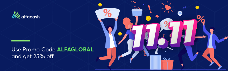 The Global Shopping Festival on Alfacash!