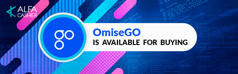 Buy OmiseGO ethereum tokens at ALFAcashier!