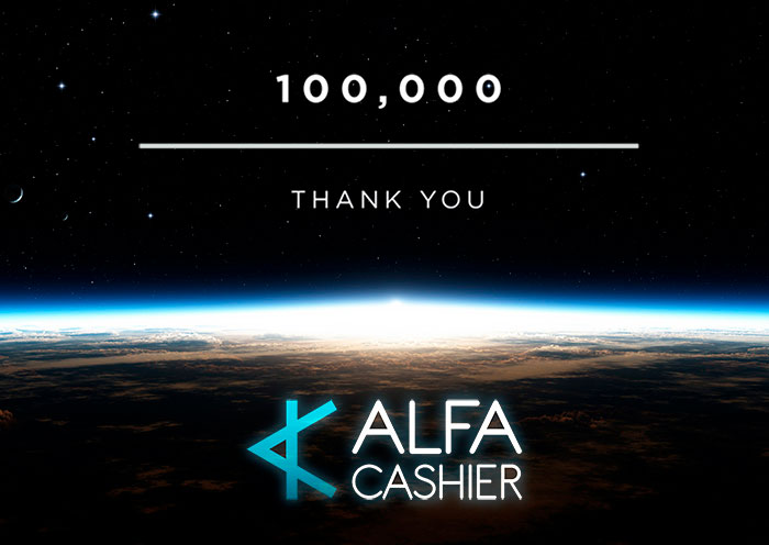 100 000 registered users!