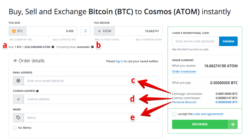 How to buy Cosmos (ATOM)