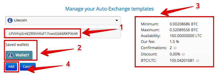 How to use Auto Exchange3
