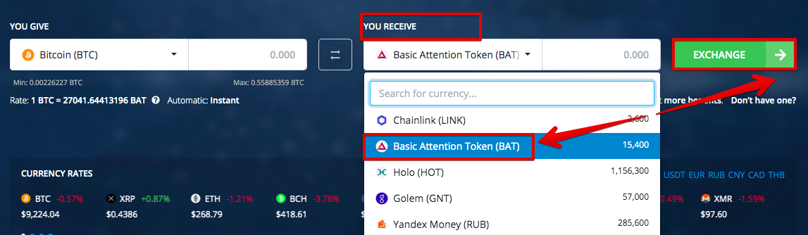 How to buy Basic Attention Token (BAT) pic2