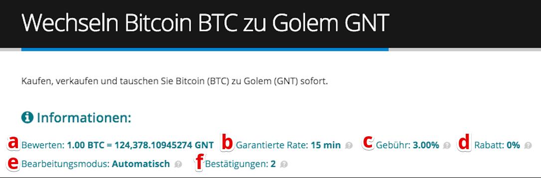 Cómo comprar Golem (GNT)