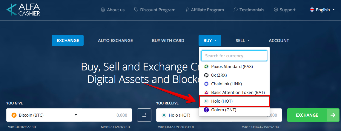 How to buy Holo (HOT)