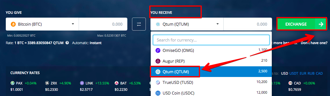 How to buy Qtum (QTUM)