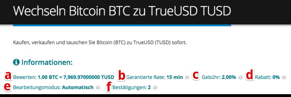 Wie kaufe ich TrueUSD (TUSD) pic3