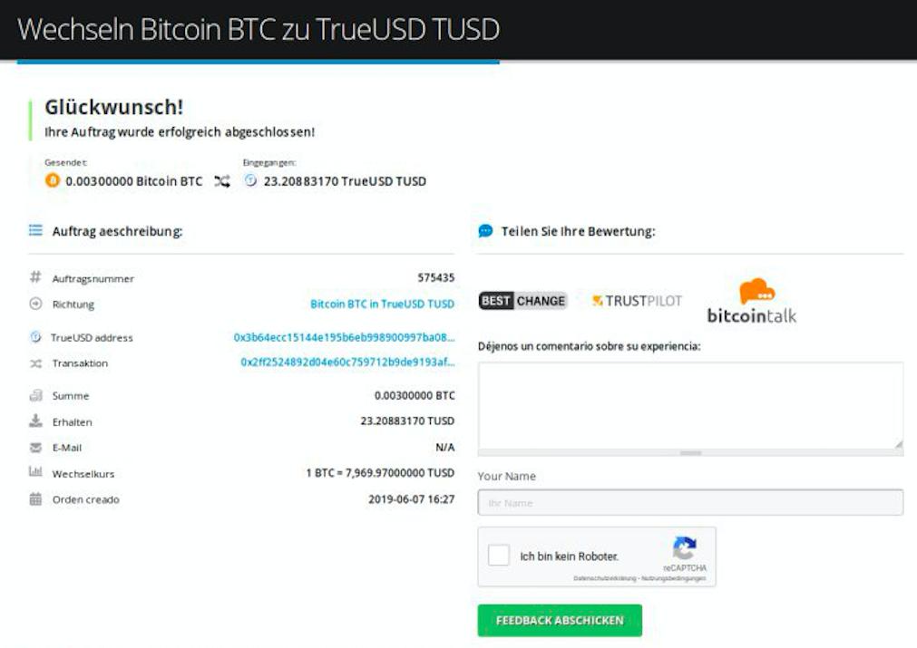 Wie kaufe ich TrueUSD (TUSD) pic9