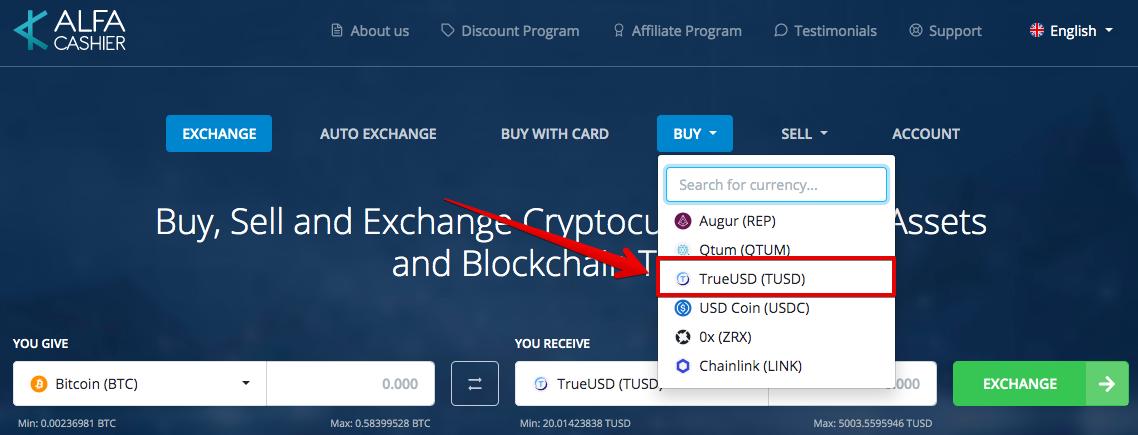 How to buy TrueUSD (TUSD) pic10