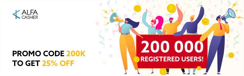 200'000 registered users at ALFAcashier!