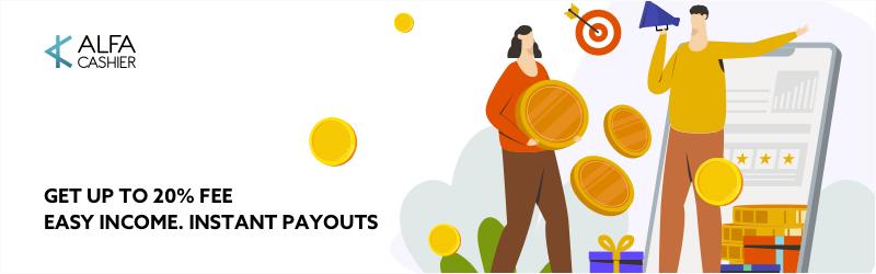 Nuevos términos rentables del programa de afiliados