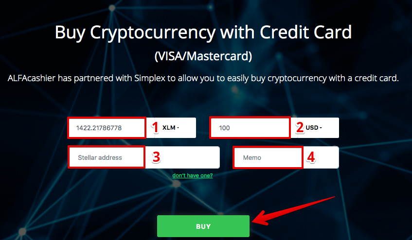 How to buy Stellar (XLM) with Credit Card (Visa/Mastercard)3