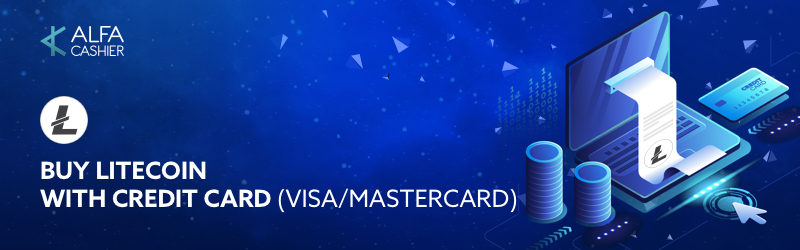 Litecoin is available for buying with Credit Card (VISA/Mastercard)!