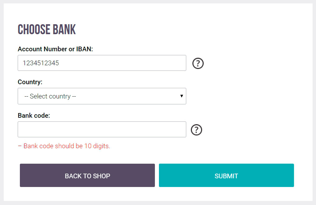 bank to bank transfer online
