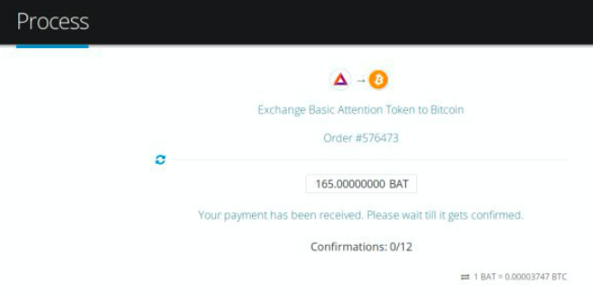 How to sell Basic Attention Token (BAT)  pic8