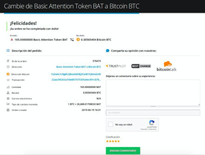 Cómo vender su Basic Attention Token (BAT) pic9