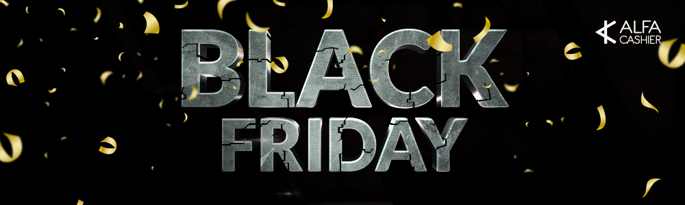 Black Friday at ALFAcashier - 25% discount on fees!