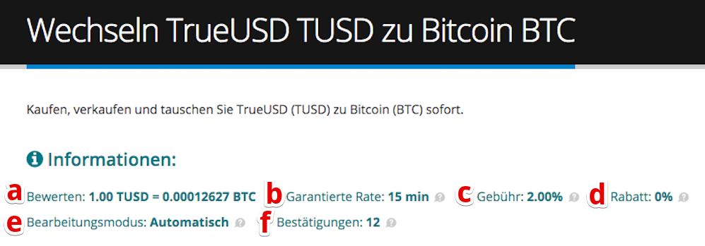 Wie verkauft man TrueUSD (TUSD) pic3