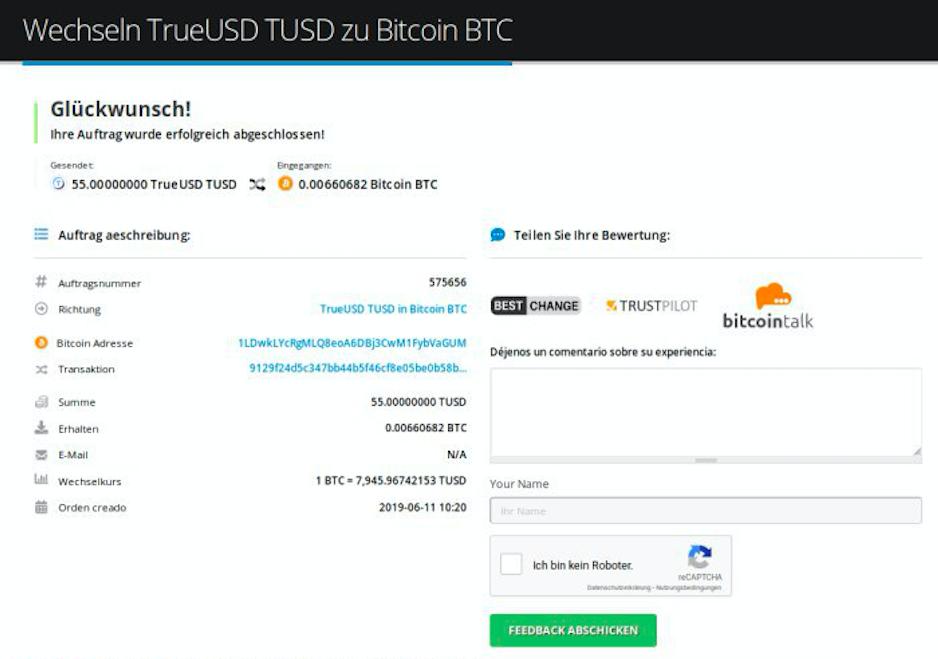 Wie verkauft man TrueUSD (TUSD) pic9
