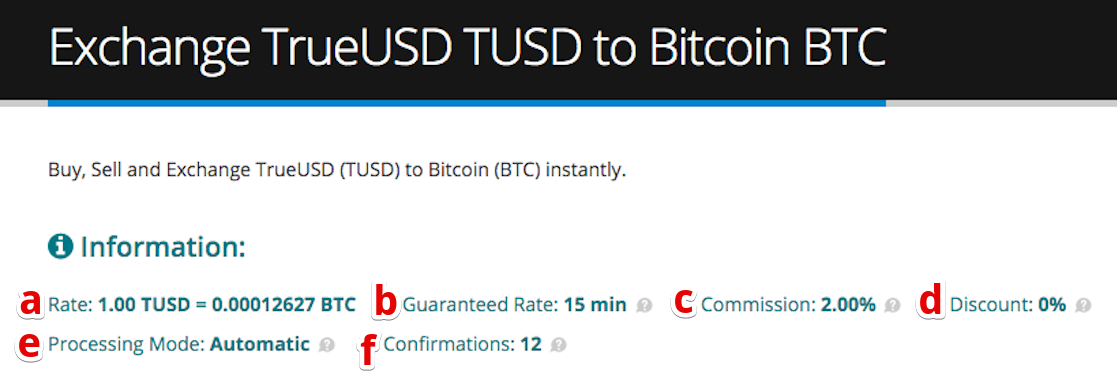 How to sell TrueUSD (TUSD) pic3