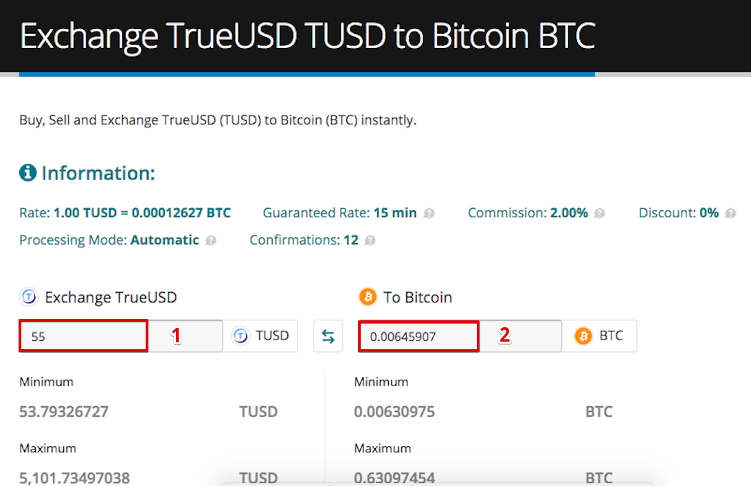 How to sell TrueUSD (TUSD) pic4