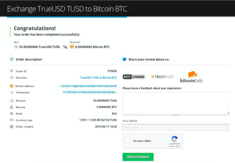How to sell TrueUSD (TUSD) pic9