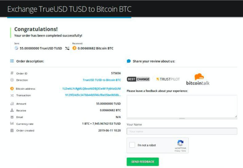 How to sell TrueUSD (TUSD) pic9