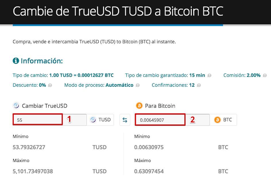 Cómo vender su TrueUSD (TUSD) pic4