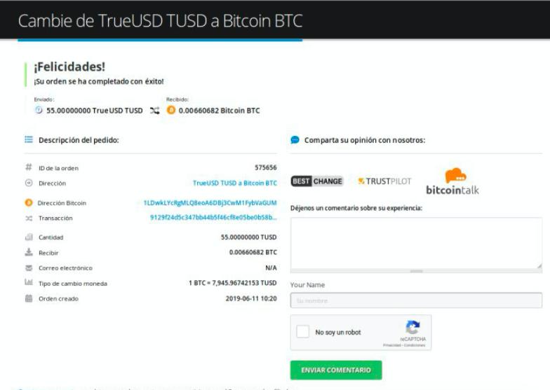 Cómo vender su TrueUSD (TUSD) pic9