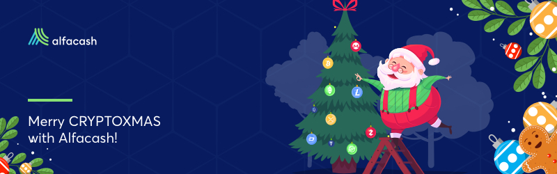 Merry CryptoXMAS from Alfacash team!