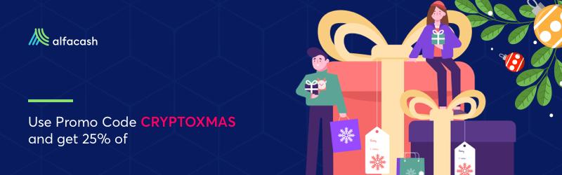Christmas discounts on Alfacash!⠀